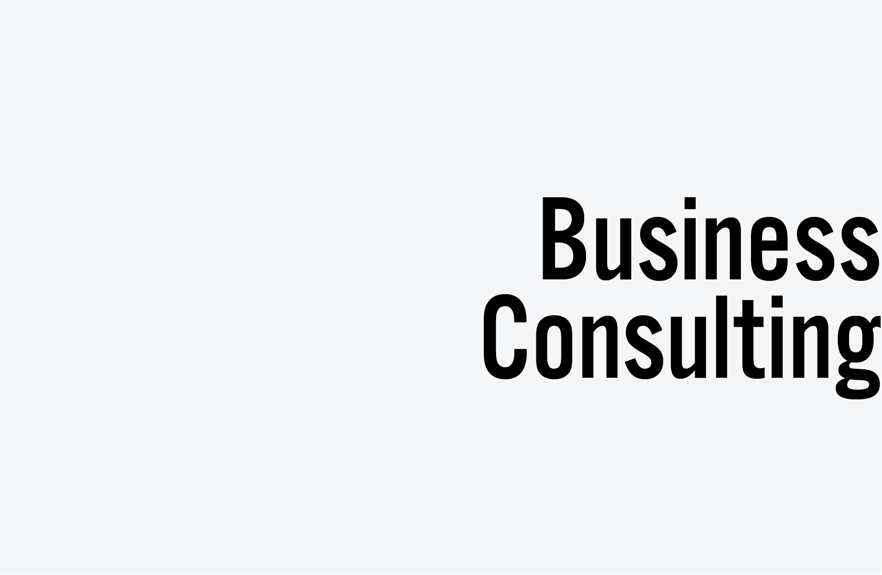 business plan for consulting
